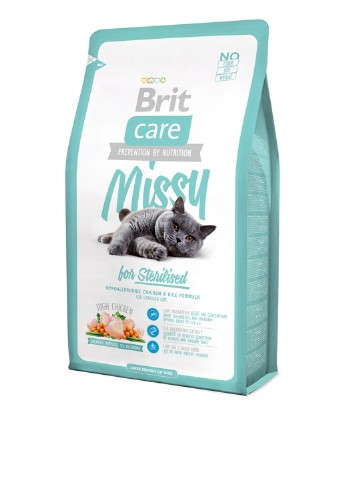 Корм Brit Care Cat 0,4 kg Missy for Sterilised Brit